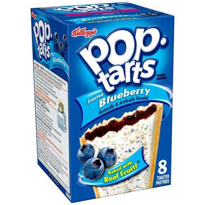 Kellogg'S Pop Tarts Toaster Pastries Frosted Blueberry, 8 Ct