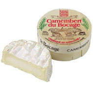 French Cow Milk Cheese, Camembert Le Bocage - 8.8 Oz
