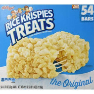 Kellogg's Rice Krispies Treats Original Crispy Marshmallow Squares .78 oz Bars - 54 Bars