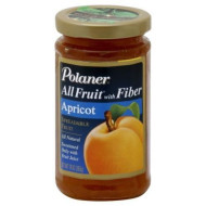Polaner All Fruit With Fiber Apricot Spreadable Fruit 10 Oz (Pack Of 12)