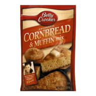 Betty Crocker Muffin Mix Golden Corn, 6.5-Ounce Pouches (Pack Of 24)