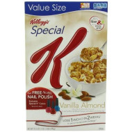 Special K Cereal, Vanilla Almond, 17.5-Ounce Packages (Pack of 4)