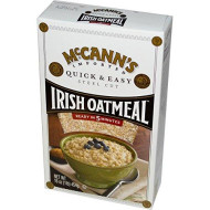 McCanns Irish Oatmeal - Quick And Easy, 16 Ounce - 12 per case.