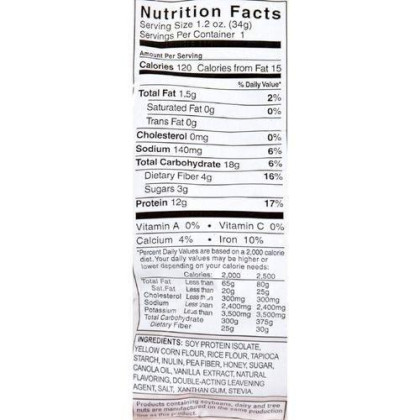 Cereal, Hi Protein, Fr Van, Gf, 1 Oz ( Value Bulk Multi-Pack)