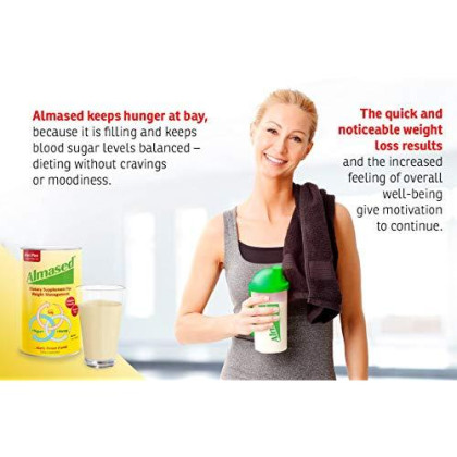 Almased Multi Protein Powder Supports Weight Loss (Pack Of 2)