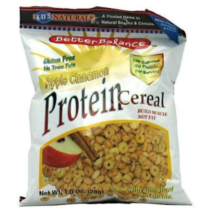 Cereal, Hi Protein , Apple Cin, Gf, 1 oz ( Value Bulk Multi-pack)