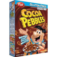 Post Cocoa Pebbles Cereal, 11-Ounce Boxes (Pack Of 4)