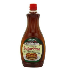 Maple Grove Farms, Syrup, Sugar Free, 24 Ounce