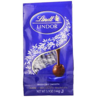 Lindt Lindor Dark Chocolate Truffles ,5.1 Ounce (Pack Of 6)