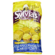 Sylvia'S Golden Corn Bread &Amp; Muffin Mix, 8.5 Ounce Packages (Pack Of 12)