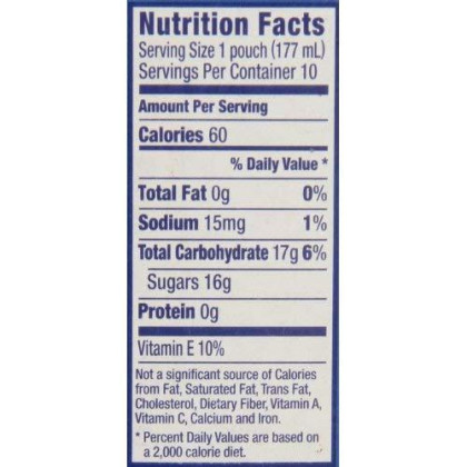 Capri Sun Juice Drink, Wild Cherry, 10-Count, 6-Ounce Pouches (Pack Of 4)