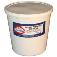 Paradise Whole Cherry, Diced Pineapple Mix, 10 Pound Tub