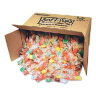 Spangler 545 Saf-T-Pops, Assorted Flavors, Individually Wrapped, Bulk 25Lb Box, 1000/Carton
