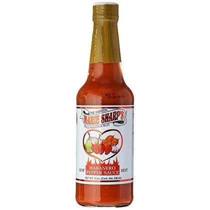 Marie Sharp's Hot Sauce, Habanero Pepper, 10 Ounce