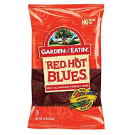 Red Hot Blues Blues Corn Tortilla Chips 16 Ounces (Case Of 12)
