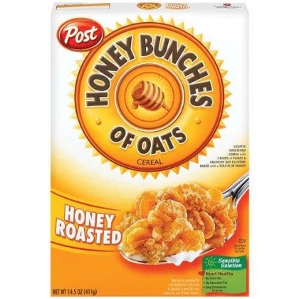 Post Honey Bunches of Oats Honey Roasted Cereal 14.5 oz