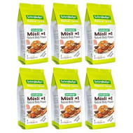 Seitenbacher Muesli Cereal #1 Natural Body Power Apple and Hazelnuts, 16 ounces (Pack of 6)
