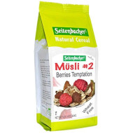 Seitenbacher Musli #2 Berries Temptation, 16 Ounce