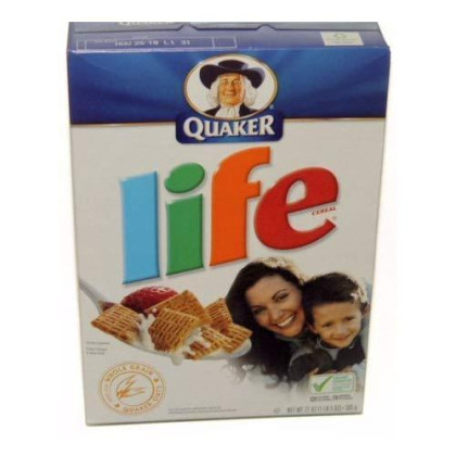 Quaker Life Cereal 21 OZ (pack of 4)