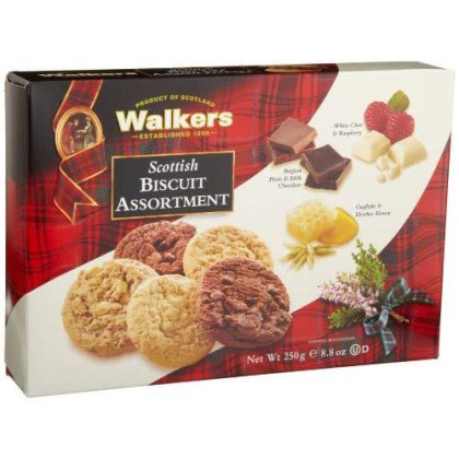Walkers Shortbread Scottish Cookie Assortment, 8.8 Ounce (Pack Of 3), Flavors Include Chocolate Chunk, White Chocolate Raspberry, Oat &Amp; Heather Honey, Quality Ingredients, No Artificial Flavors