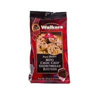 Walker'S Shortbread Pure Butter Mini Choc Chip Shortbread Rounds, 4.4 Ounce Bags (Pack Of 6)