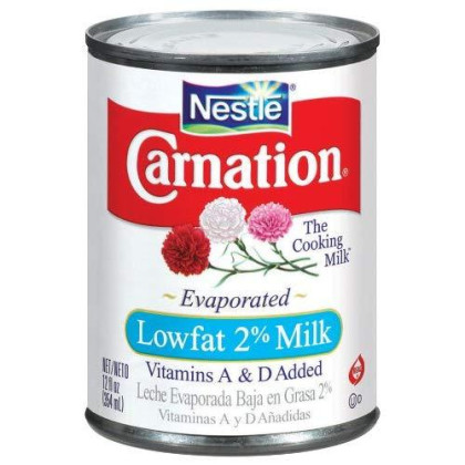 Carnation Evaporated Milk Low Fat, 12-Ounce Cans (Pack of 24)