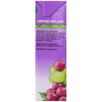 Juicy Juice 100% Juice, Grape,6.75-Ounce Boxes (Pack Of 32)