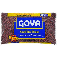 Goya Foods Small Red Beans, 4 Pound (1 bag)