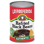 La Preferida Refried Black Beans, Authentic, 16-Ounce (Pack Of 12)