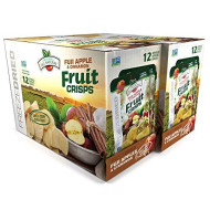 Brothers-ALL-Natural Fruit Crisps, Fuji Apple & Cinnamon, 0.35 Ounce (Pack of 24)