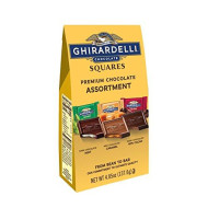 Ghirardelli Chocolate Squares, Premium Assortment, 4.85-Ounce Packages (Pack Of 6)