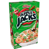 Kellogg's Apple Jacks, Breakfast Cereal, Original, Low Fat, 14.7 oz Box