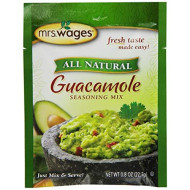Mrs. Wages Guacamole Seasoning Mix, .8-Ounce Pouches (Pack of 12, Packaging may vary)