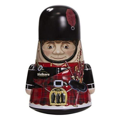 Walkers Cookie Tin Piper