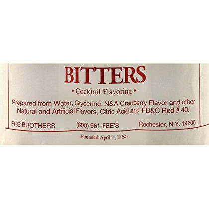 Fee Brothers Cranberry Cocktail Bitters - 5 Oz