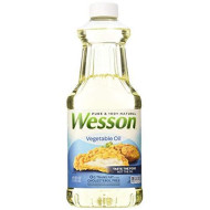 Wesson Pure Vegetable Oil 48oz