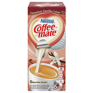 Nestle Coffee-Mate Coffee Creamer, Cinnamon Vanilla Creme, Liquid Creamer Singles, 18.7 Fl Oz, Pack Of 4