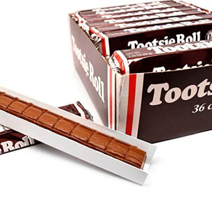 Tootsie Roll Bars, 2.25-Ounce Rolls (Pack Of 36)