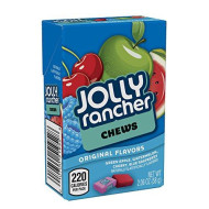 Jolly Rancher Chews Candy, Assorted Original Flavors (Cherry, Watermelon, Blue Raspberry, Green Apple), 2.06 Ounce Box (Pack Of 24 )