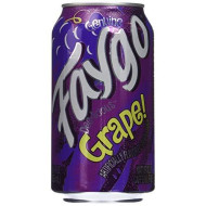 Faygo - Grape Soda - 12 Pack of 12-oz. Cans