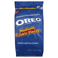Oreo Medium Cookie Pieces, 2.5-Pound Resealable Packages (Pack of 4)