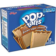 Kellogg's Pop-Tarts Frosted Toaster Pastries Frosted Brown Sugar Cinnamon, 12 Count (Pack of 3)