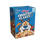 Frosted Flakes Cereal, Family Size, 27.5-Ounce Boxes (Pack of 2)