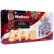 Walkers Shortbread Festive Shapes In Holiday Box, 12.3 Ounces (Pack Of 2)