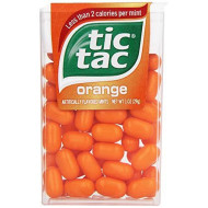Tic Tac Mints, Orange, 1 Oz. (12 Count)
