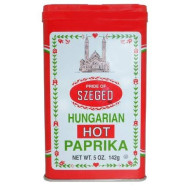 Traditional Hungarian Style Paprika - Hot (4 Ounce)