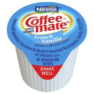 Nestle Coffee-Mate Coffee Creamer, French Vanilla, Liquid Creamer Singles, Pack Of 180