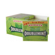 Wrigley'S Doublemint Gum Slim Pack (226660) 15 Ct