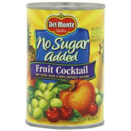 Del Monte Fruit Cocktail Packed In Water, Artificially Sweetened No Sugar Added, 14.5-Ounce (Pack Of 6)