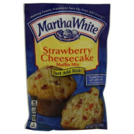 Martha White Muffin Mix, Strawberry Cheesecake, 7-Ounce Packages (Pack Of 12)